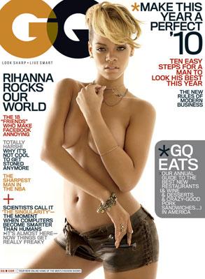 Rihanna, GQ Cover