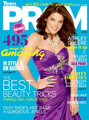 Ashley Greene, TeenPROM, Cover