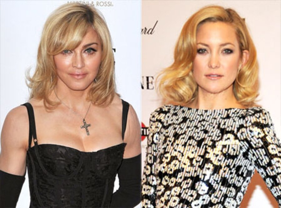Madonna, Kate Hudson