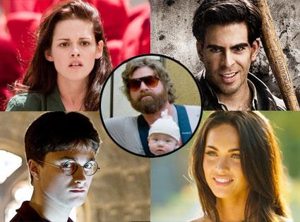 Kristen Stewart, Eli Roth, Daniel Radcliffe, Zach Galifianakis