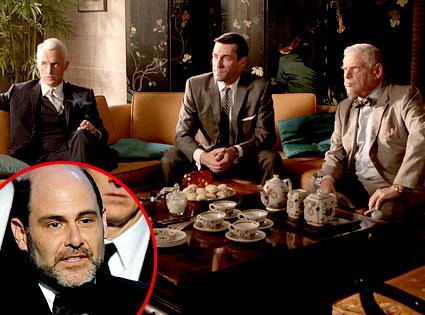 Mad Men, John Slattery, Jon Hamm, Robert Morse, Matt Weiner