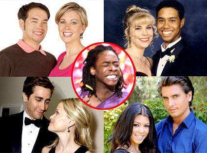 Jon Gosselin, Kate Gosselin, Tiger Woods, Diana Parr, Jake Gyllenhaal, Reese Witherspoon, Kourtney Kardashian, Scott Disick, Russell Ferguson