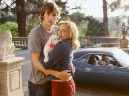 Brittany Murphy, Ashton Kutcher, Just Married