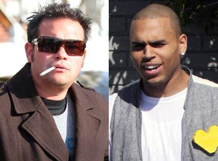 Jon Gosselin, Chris Brown