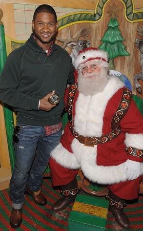 Usher, Santa
