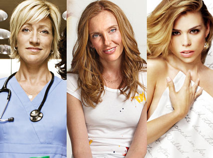 Nurse Jackie, Edie Falco, United States of Tara, Toni Collette, Secret Diaries of a call girl, Billie Piper