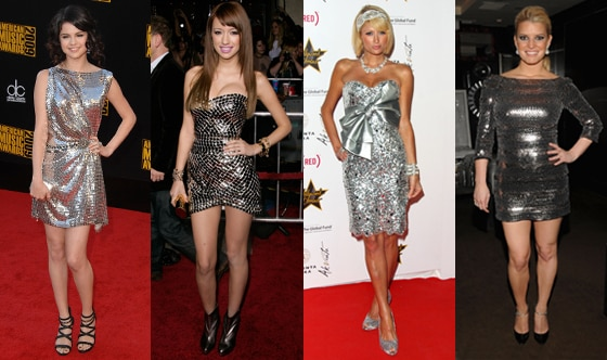 Selena Gomez, Christian Serratos, Paris Hilton, Jessica Simpson