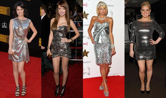 Selena Gomez, Christian Serratos, Paris Hilton, Jessica Simpson