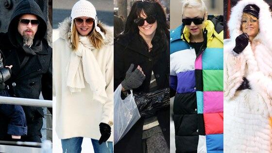 Brad Pitt, Heidi Klum , Ashlee Simpson, Gwen Stefani, Rihanna
