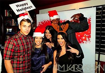 Robert Kardashian, Kourtney Kardashian, Khloe Kardashian Odom, Lamar Odom, Kim Kardashian