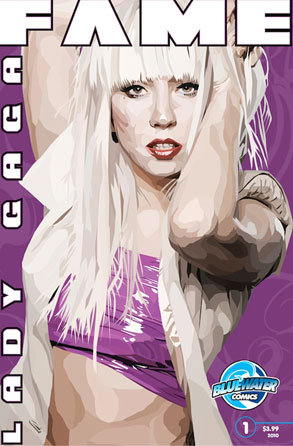 Lady Gaga, Blue Water Comic