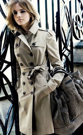 Emma Watson, Burberry Ad