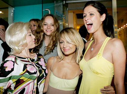 Casey Johnson, Bijou Phillips, Nicole Richie, Nicky Hilton