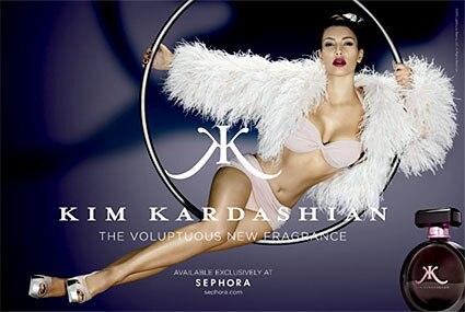 Kim Kadashian, Fragrance Ad