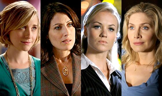 Allison Mack, Smallville, Lisa Edelstein, House, Yvonne Strahovski, Chuck, Elizabeth Mitchell, V, Girl on Top
