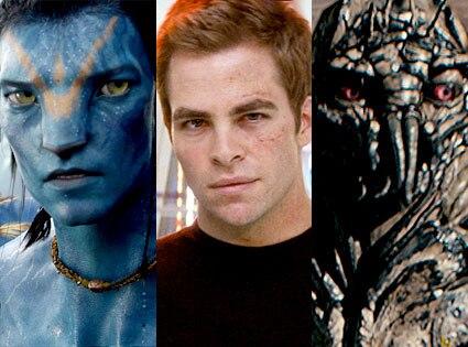 Avatar, Chris Pine, Star Trek, District 9