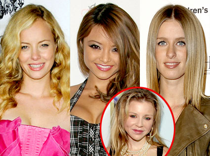 Bijou Phillips,Tila Tequila, Nicky Hilton, Casey Johnson