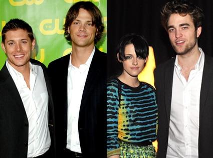 Jensen Ackles, Jared Padalecki, Kristen Stewart, Robert Pattinson