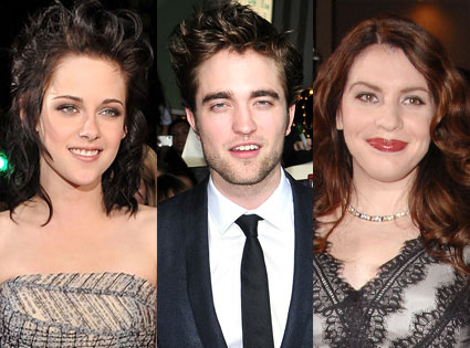 Kristen Stewart, Robert Pattinson, Stephanie Meyer