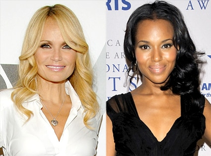 Kristen Chenoweth, Kerry Washington