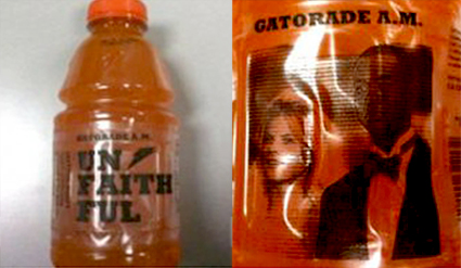 Tiger Woods, Gatorade Bottle