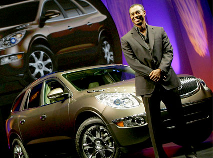 Tiger Woods, Buick Ad