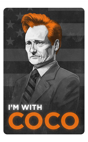 I'm With Coco Poster, Conan O'Brien