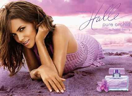 Halle Berry, Pure Orchid Ad