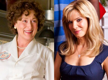 Meryl Streep, Julie and Julia, Sandra Bullock, The Blindside