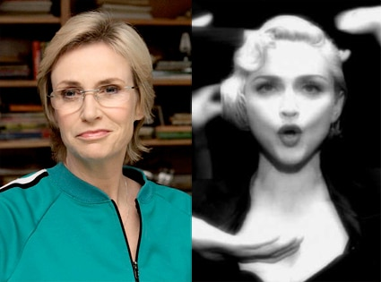 Jane Lynch, Madonna