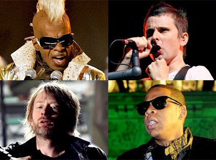 Sly Stone, Muse, Thom Yorke, Jay-Z