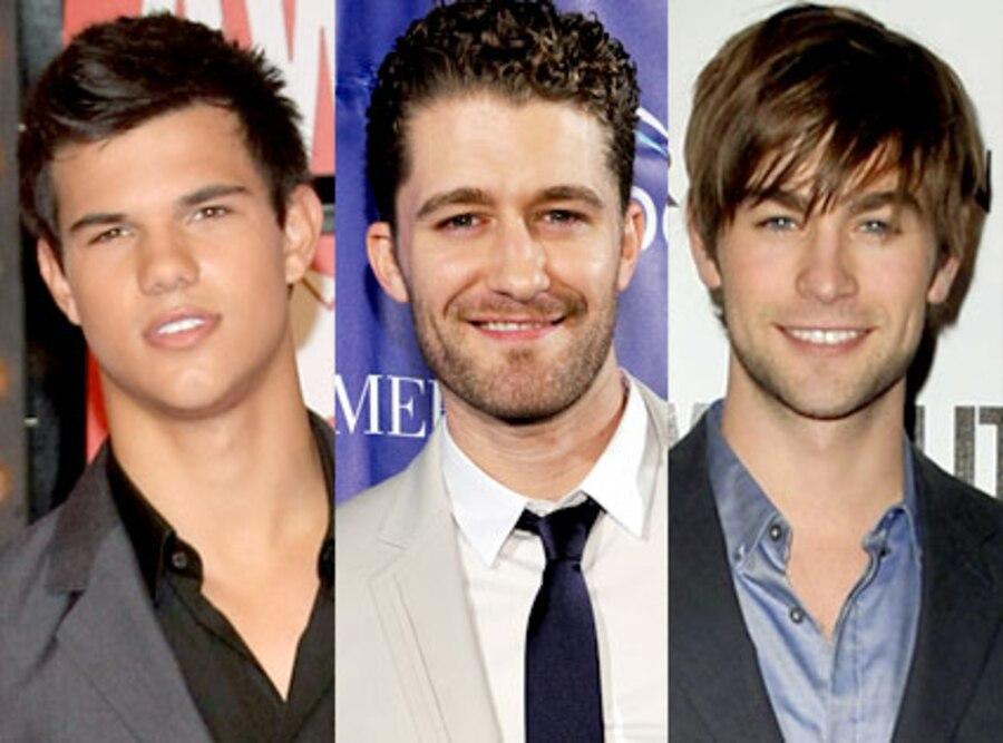 Taylor Lautner, Matthew Morrison, Chace Crawford