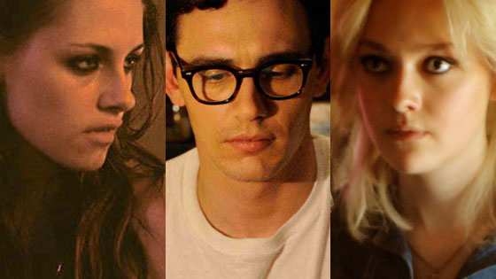 Kristen Stewart, Welcome to the Rileys, James Franco, Howl, Dakota Fanning, The Runaways