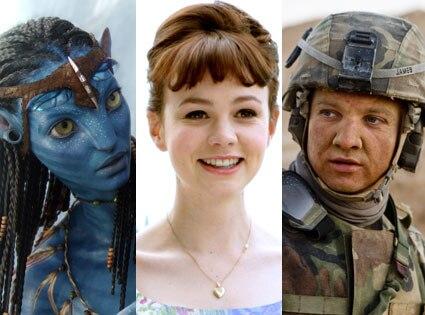 Avatar, Zoe Saldana, An Education Carey Mulligan, The Hurt Locker, Jeremy Renner
