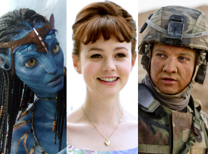 Avatar, Zoe Saldana, An Education Carey Mulligan, The Hurt Locker, Jeremy Renner