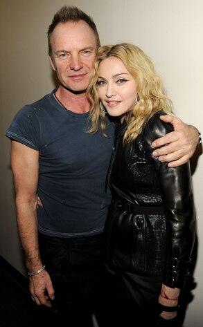 Sting, Madonna, Telethon