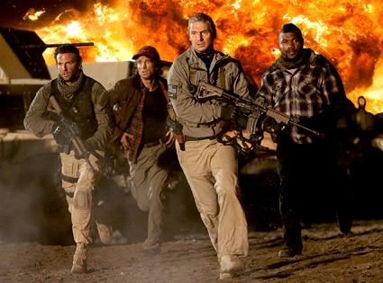 Bradley Cooper, Sharlto Copley, Liam Neeson, Quinton Rampage Jackson, A-Team