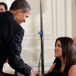 Barack Obama, Khloe Kardashian