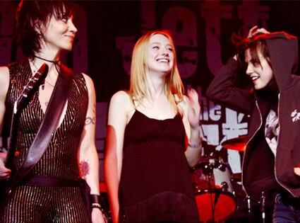 Joan Jett, Dakota Fanning, Kristen Stewart