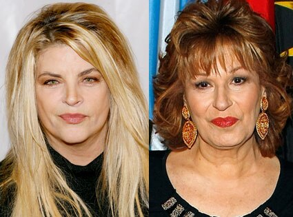 Kirstie Alley, Joy Behar
