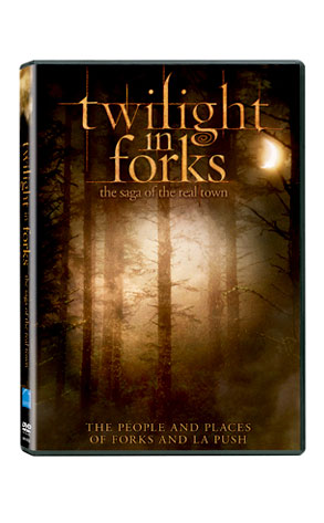 Twilight in Forks, DVD Documentary, Cover