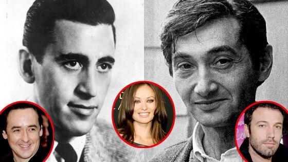 JD Salinger, Howard Zinn, John Cusack, Olivia Wilde, Ben Affleck