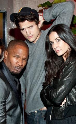 Jamie Foxx, Demi Moore, Ashton Kutcher