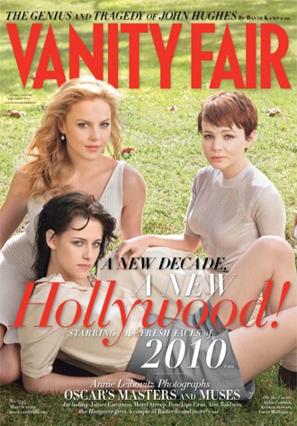 Abbie Cornish, Kristen Stewart, Carey Mulligan, Vanity Fair Cover
