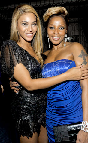 Beyonce Knowles, Mary J. Blige
