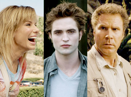 Sandra Bullock, All About Steve, Robert Pattinson, New Moon, Will Ferrell, Land of the Lost