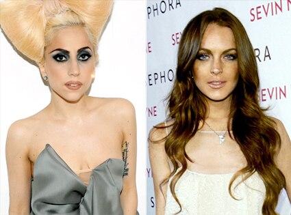 Lady Gaga, Lindsay Lohan