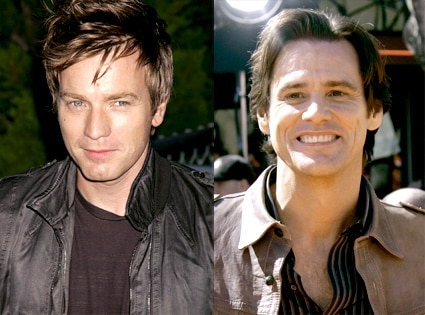 Ewan McGregor, Jim Carrey