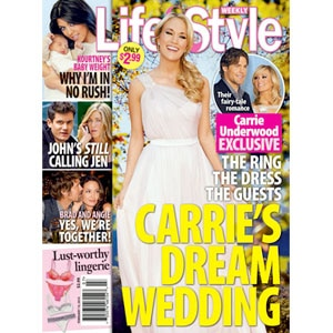 Carrie Underwood, Kourtney Kardashian, Life and Style, Cover