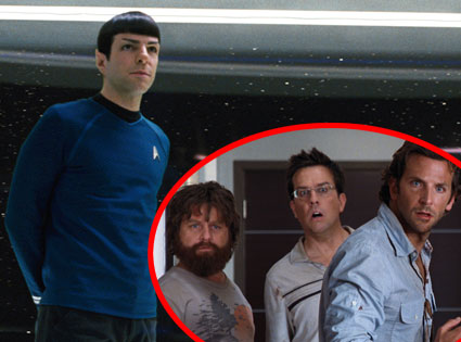 Star Trek, The Hangover